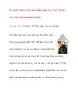 SỰ PHÁT TRIỂN CỦA CÁC EM BÉ SINH RA TỪ KỸ THUẬT THỤ TINH docx