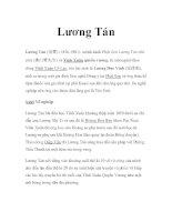 Võ sư Trung quốc - Lương Tán potx