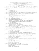 100 bài tập hình học không gian luyện thi đại học 2011 pps