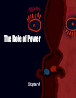 Chapter 8: The Role of Power pptx