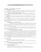 Bài tập cơ bản về động học lực chất điểm