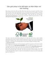 Các giải pháp in ấn tiết kiệm và thân thiện với môi trường docx