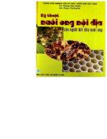 Kỹ thuật nuôi ong nội địa cho người bắt đầu nuôi ong part 1 potx