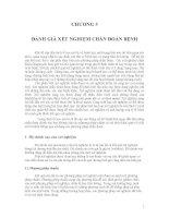 Giáo trình- Dịch tễ học đại cương - chương 5 pps
