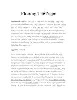 Võ sư Trung quốc - Phương Thế Ngọc pdf