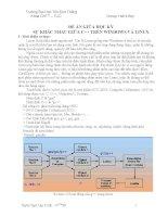 Sự khác nhau cơ bản giữa lập trình C++ trong Linux và Windows doc