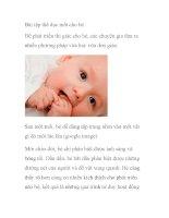 Bài tập thể dục mắt cho bé pdf