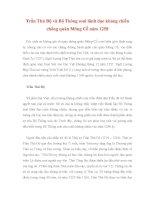 Trần Thủ Độ và Bộ Thông soái lãnh đạo kháng chiến chống quân Mông Cổ năm 1258 doc