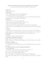 GIÁO ÁN HÌNH HỌC 10 - PHƯƠNG PHÁP TOẠ ĐỘ TRONG MẶT PHẲNG docx