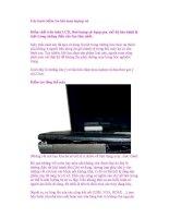 Các bước kiểm tra khi mua laptop cũ docx