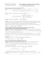 Đề và đáp án thi thử ĐH môn TOÁN khối A lần 3 - THPT chuyên Vĩnh Phúc ppsx