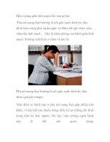 Hiện tượng giãn tĩnh mạch khi mang thai potx