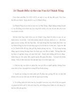 24 Thanh Điều và thơ của Vua Lê Thánh Tông ppsx