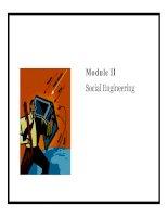 Module II - Social Engineering pptx