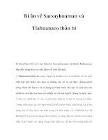 Bí ẩn về Sacsayhuaman và Tiahuanaco thần bí ppt