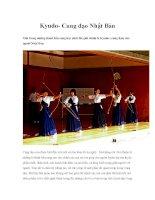Kyudo- Cung đạo Nhật Bản pdf