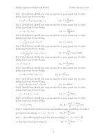 Bài tập ứng dụng tích phân tính thể tích pot