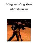 Sống vui sống khỏe nhờ khiêu vũ ppsx