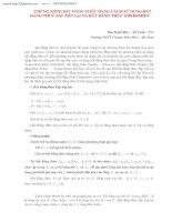 chứng minh bất đẳng thức bằng cách sử dụng bất  đẳng thức sắp xếp lại và bất đẳng thức chebyshev