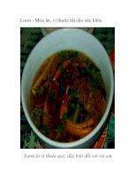 Lươn - Món ăn, vị thuốc tốt cho sức khỏe pps