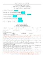 Ôn tập kiến thức vật lý 11 - Cảm ứng điện từ pdf