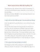 Mười cách trả lời ăn điểm khi đi phỏng vấn pps