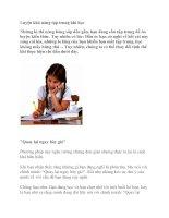 Luyện khả năng tập trung khi học potx