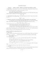 TÀI LIỆU ÔN TẬP DẠNG 1: ĐỘNG LƯỢNG – ĐỊNH LUẬT BẢO TOÀN ĐỘNG LƯỢNG potx