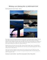 Những con đường thú vị nhất hành tinh pdf