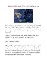 KINH NGHIỆM CUỘC SỐNG : 5 bước hàn gắn tình yêu pdf