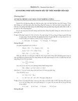 10 phương pháp nhanh bài tập trắc nghiệm hóa học