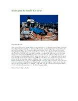 Khám phá du thuyền Carnival ppsx