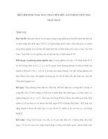 BIẾN ĐỔI HÌNH THÁI THẤT TRÁI TRÊN SIÊU ÂM Ở BỆNH NHÂN ĐAU THẮT NGỰC ppsx