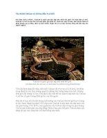 Tòa thánh Vatican và những điều ít ai biết docx