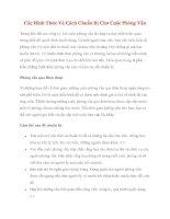 Các Hình Thức Và Cách Chuẩn Bị Cho Cuộc Phỏng Vấn ppt