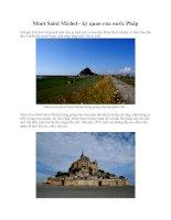 Mont Saint Michel - kỳ quan của nước Pháp pdf