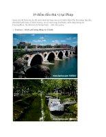 10 điểm đến thú vị tại Pháp pot