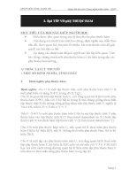 Bài tập lý thuyết CSDL quan hệ - bài tập phụ thộc hàm potx