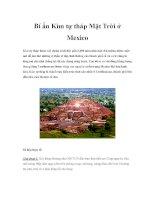 Bí ẩn Kim tự tháp Mặt pdf