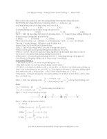 Các bài toán trong dao động điều hòa potx