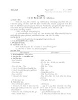 Giáo án lớp 4 năm 2011 - Tuần 20 pps