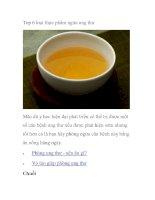 Top 6 loại thực phẩm ngừa ung thư ppt