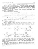 Cơ sở hóa học hữu cơ tập 1 part 6 pot