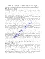 81 câu hỏi - trả lời các nguyên lý cơ bản chủ nghĩa Mác - Lênin ppsx