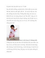Sự phát triển thể chất của trẻ 1-3 tuổi doc