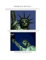Nữ thần Tự do ''''đã trở lại ... pps