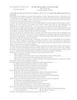 5 đề thi tham khảo tiếng anh 2011 của bộ giáo dục ( có đáp án) ppsx