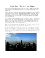 Hong Kong - đảo ngọc của châu Á pptx