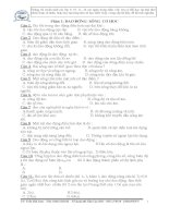 500 cau hoi trac nghiem Vat Ly 12 (on thi tot nghiep va dai hoc)(2) pps