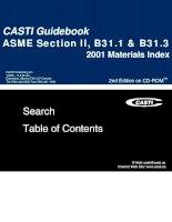 ASME Section II, B31.1 $ B31.3 pptx